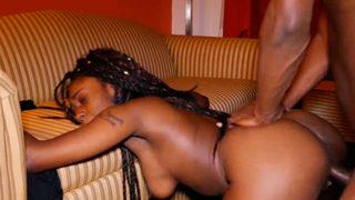 Amateur Sex Tape With Ebony Girlfriend in Dorm
